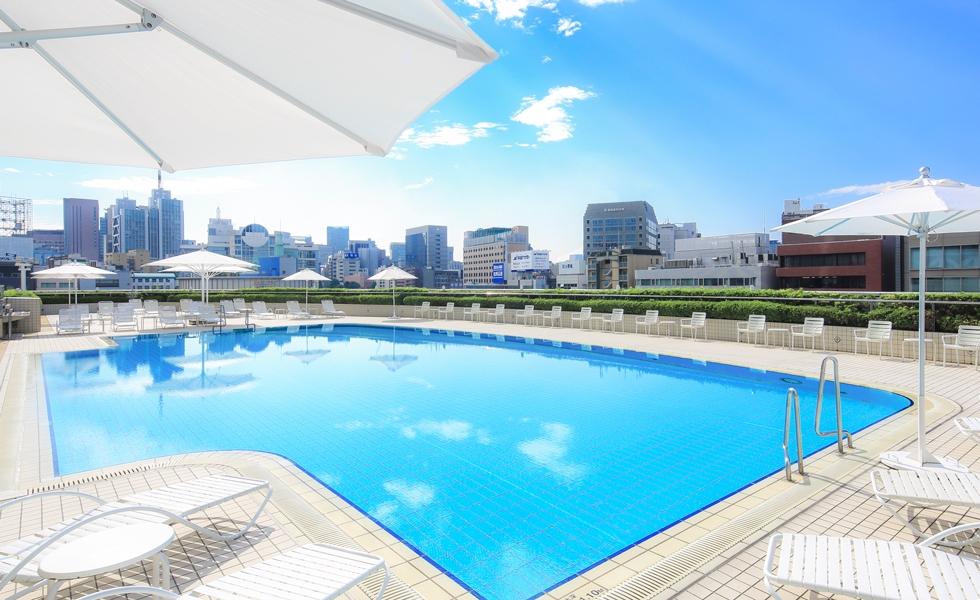 ガーデンプール 公式 東京ドームホテル